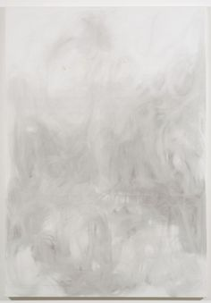 RICHARD ALDRICH, Paint as Revealing Three Gestures: Psychological, Structural and Philosophical, 2006, Oil and wax on linen, 84 H x 58 W x 1 D inches.