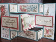 My First Tri-fold card by auntie beaner - Cards and Paper Crafts at Splitcoaststampers