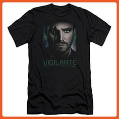 Arrow CW Superhero TV Series Good Eye Adult Slim T-Shirt Tee - Superheroes shirts (*Partner-Link)