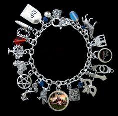 The Vampire Diaries Themed Charm Bracelet