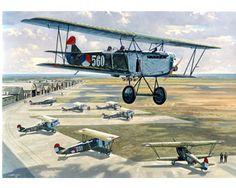 Poster Fokker C-4 - Geromy BV Royal Dutch, Military Flights, Vintage Banner, Aircraft Painting, Aircraft Design, Aviation Art, Berg, Vintage Design, Military Aircraft