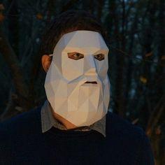 Bearded Man Mask - Wintercroft - 1