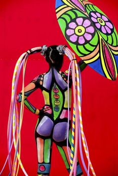 The international body painting festival was conducted in Daegu, South Korea this weekend.