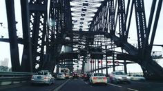 driving under the harbour bridge  #sydney #harbourbridge #sydneyharbourbridge #bridge #geometric #geometry  by _all_that_jas_ http://ift.tt/1NRMbNv