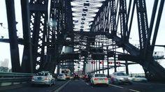 driving under the harbour bridge  #sydney #harbourbridge #sydneyharbourbridge #bridge #geometric #geometry  by _all_that_jas_ http://ift.tt/1NRMbNv