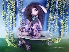 """Surreal tenderness for my BJD Zaia   by collection """"Call me doll"""""""
