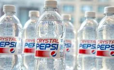 Regresa la Crystal Pepsi