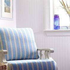 Beadboard Paintable Wallpaper Wallpaper by Graham and Brown
