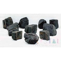 Rough Black Tourmaline - Gemstone to Clear Negativity