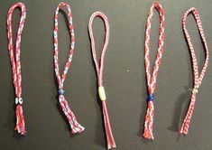 Martis: The red and white bracelet Greek children wear on their wrist on March - Keep Talking Greece Kids Wear, Children Wear, Bracelet Making, Tassel Necklace, Red And White, Handmade Jewelry, Jewels, Bracelets, Silver