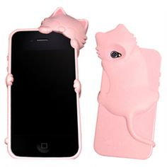 Cat lover phone cover.