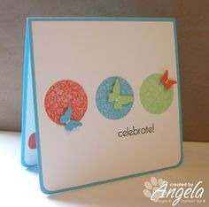 Stampin' Away with Angela: Simple Saturday Card