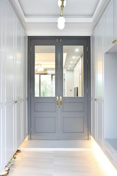 Room Door Design, Entrance Design, House Design, Exterior Design, Interior And Exterior, Room Doors, House 2, Apartment Design, Modern Classic