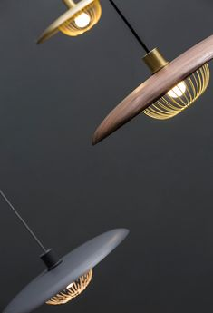 Taiwan-born Yen-Hao, Chu has designed the Kasa lamp for Chinese brand Ziihome, pendants that were inspired by 'kasa,' traditional Chinese rain hats, which you'll instantly see when you look at its design.