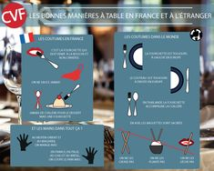 Bonbon on pinterest for Les bonnes manieres a table en france