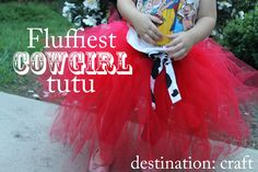 Fluffiest Cowgirl Tutu