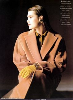 Yasmin Le Bon in Missoni, 1987 1980s Fashion Trends, 90s Fashion, Retro Fashion, Fashion Beauty, Vintage Fashion, Womens Fashion, Classy Outfits, Trendy Outfits, Vintage Outfits