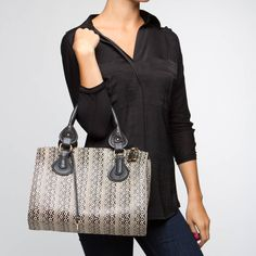 {the Wise handbag} Aztec print is fab!