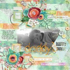 Sweet Shoppe Designs::Digital Scrap Kits::Find Your Happy Place by Jenn Barrette and Juliana Kneipp