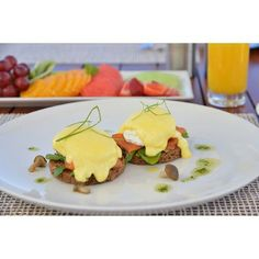 #Breakfast is the most important meal of the day. #Capetown #SouthAfrica #foodie #eggsbenedict #yum