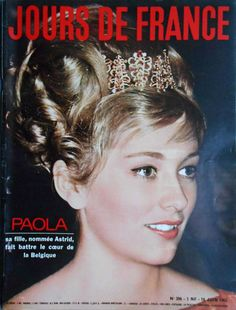 Prince of Liège married Donna Paola Ruffo di Calabria in 1959, and she became The Princess of Liège. she was Queen of the Belgians. Queen Paola of Belgium, from 1993 until 2013, is the wife of King Albert II. JOURS DE FRANCE No. 396 - 16 Juin 1962