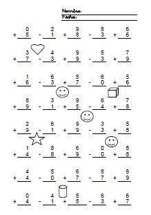 addition homework | ... page from Kindergarten Addition Worksheets 1 ...