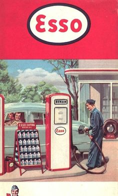I remember when the gas attendant pumped gas for you & washed your windshield, retro poster Posters Vintage, Vintage Advertising Posters, Retro Poster, Old Advertisements, Vintage Art Prints, Retro Ads, Advertising Signs, 1950s Advertising, Pin Ups Vintage