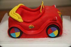 How to make a car cake