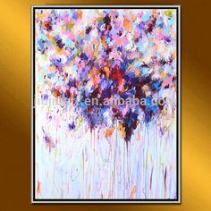 Pintura handmade na lona pinturas a óleo abstratas