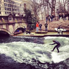 Did you know there's surfing in Munich?