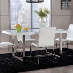 Baraga Dining Table w/ White Top
