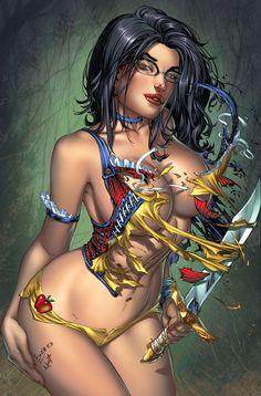 Grimm Fairy Tales 65 Secret Cover by ToolKitten.deviantart.com on @DeviantArt