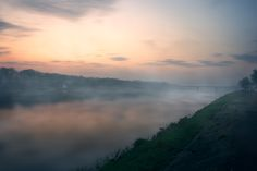 Morning at the river - Taken before sunrise in Warsaw.