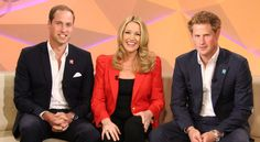 The chat with Nine was the only interview the princes did for an Olympic broadcaster.