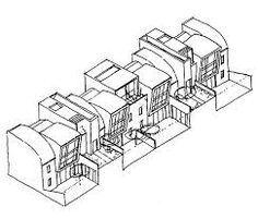 Image result for mews architecture drawing