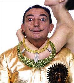 Salvador Dalí by Richard Avedon
