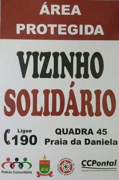 Charles Fonseca: Vizinhança solidária. Grupo de WhatsApp em cada ru...