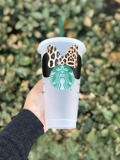 Your place to buy and sell all things handmade Personalized Starbucks Cup, Custom Starbucks Cup, Starbucks Drinks, Cute Disney, Disney Style, Reusable Cup, Cute Cups, Custom Tumblers, Tumbler Cups