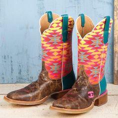 Cinch Edge Women's Aztec Crackle Boots