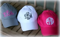 874b659c87f1d Items similar to Ladies Monogrammed Baseball Hat-Monogrammed Women s  monogram Cap-Embroidered Hat-Personalized Hat-2018 New Color Khaki on Etsy