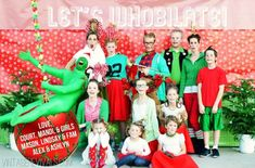 Funny Christmas Card idea: Dressing up like people from Whoville is a bold, quirky choice alone — but having the Grinch (literally) come in on a wrecking ball is just plain genious.  See more at Vintage Revivals »    - CountryLiving.com