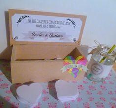 caja + corazones libro de firmas 15 años boda casamiento Signature Book, Ideas Para, Projects To Try, Container, Deco, Coffer, Paper Hearts, Wine Tags, Custom Boxes
