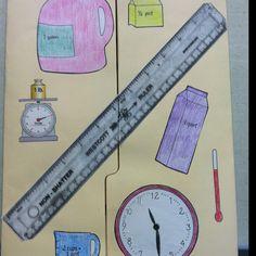 Front of measurement lap book