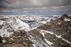 Snowy peaks as far as the eye can see [OC][2808x1872]