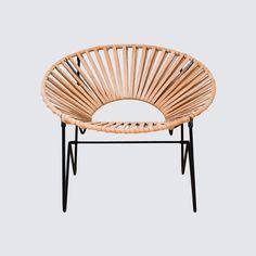 Aldama Chair - Black & Black – The Citizenry