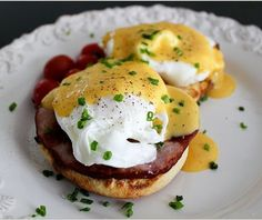 #Eggs Benedict - I don't think that there is anything better in the egg world than those!