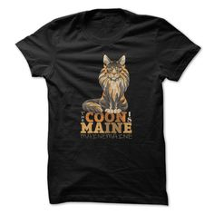"""Cat Shirts - """"The Coon Is Maine"""" #catshirts #mainecooncatshirts"""" #catshirts #mainecooncatshirts"""