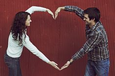 Cute :) Would be great for an engagement shoot or have kids stand in heart for family picture...