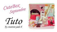 CuteBox de Septembre 2014 ! Creations, Kawaii, Cover, Books, September, Libros, Book, Book Illustrations, Libri