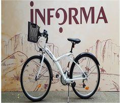 """INFORMA SALUDABLE ha puesto en marcha """"Monta en bici"""", una iniciativa que fomenta el compromiso de vida saludable. Ya están disponibles 6 bicicletas para: - realizar desplazamientos entre edificios - ir a comer por los alrededores de la oficina - hacer deporte  La reserva de la bicicleta es posible realizarla a través de Outlook y a continuación... ¡¡sólo es necesario recoger la llave y el casco!!  Ya llega el verano... y es una forma sencilla de hacer deporte!! ¿Os animáis a usarlas? Informa, The Office, Healthy Living, Engagement, Bicycles, Buildings, Events, Summer Time"""